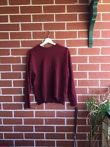 Men's small lambs wool jumper Woolooware Sutherland Area Preview