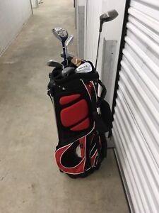 Left hand kids golf clubs***Free***