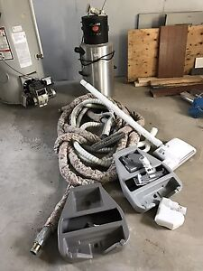 Central Vac with accessory's