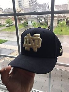 New Era Notre Dame Hat almost new