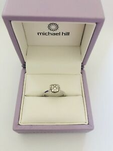 Beautiful 10 K White Gold .50 CT Engagement Ring $800