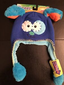Flipeez puppy action winter hat for kids - brand new with tags