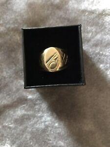 18k men's ring