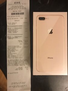 Brand New IPhone 8 Plus Gold 64GB