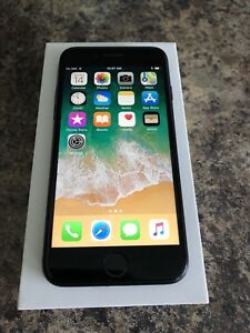Unlocked Matte Black iPhone 7 32GB with Box, Accessories & Case
