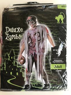 Halloween costume zombie Adult X-large