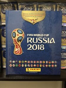 Panini FIFA World Cup Russia 2018 Soccer Sticker Album & Boxes