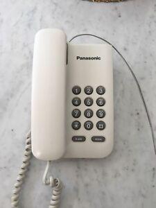 Téléphone Panasonic blanc