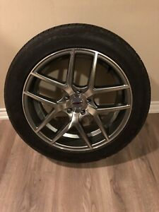 FOUR 20 inch 5x120 wheels and tires. PERFECT CONDITION