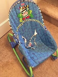 Fisher Price Calming Vibrations Rocker Bouncy Chair