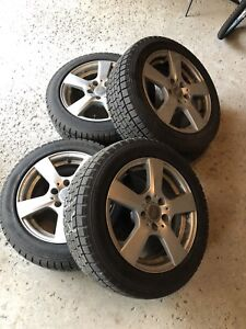 FS: Falken Espia EPZ winter tires on wheels