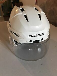 Bauer IMS 7 adjustable helmet. Only used twice!