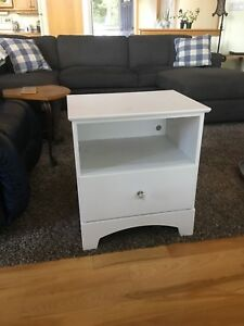 Dresser and end table
