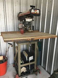 "Craftsman 2.5 HP 10"" radial arm saw"
