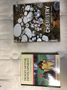 Lot of Health Science books for UOIT