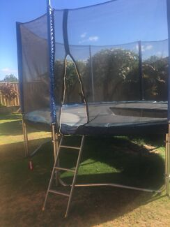 Huge trampoline - mat needs replacing