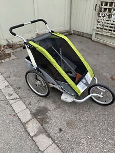 Chariot Cougar 2 Double Jogging Stroller / Bike Trailer