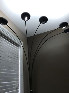 6 ft tall spider lamp with marble base