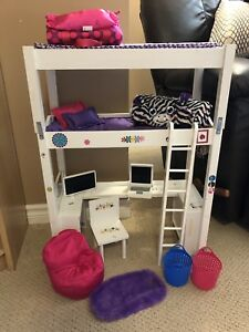 American girl style bunk bed