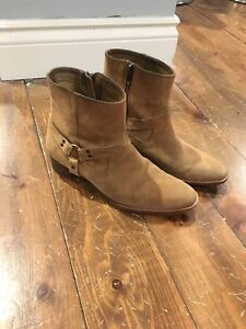 Frye suede boots size 9.5
