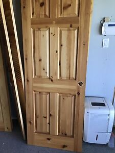 SOLD----Solid Pine Doors