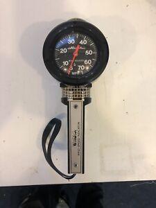 Vintage wind speed indicator