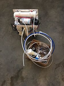 Reverse Osmosis with pressure pump