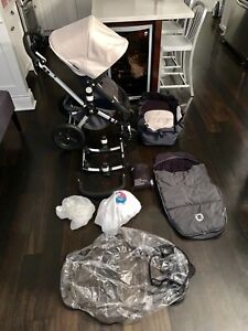 Bugaboo Cameleon complete stroller with bassinet
