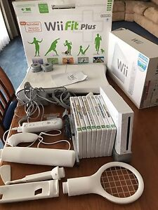 Wii console and Wii fit board Tea Tree Gully Tea Tree Gully Area Preview