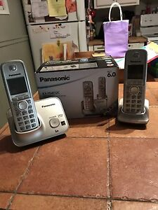 Panasonic dual cordless phones