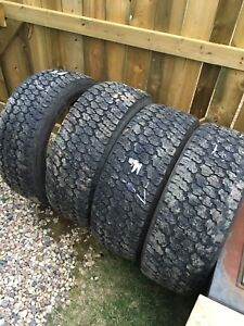 275/55r20 Goodyear wranglers used tires