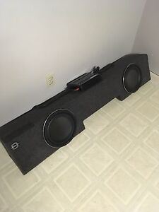 Like new sub and amp!