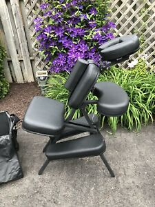 Professional Massage Chair with Rolling Case