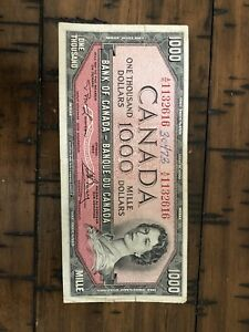 Canada bank note