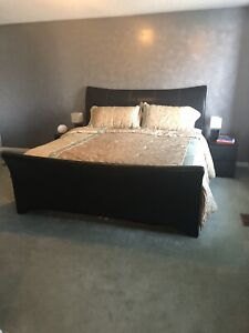 California King Size Bed Set