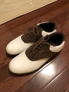 Size 8 Reebok Men's Golf Shoes basically brand new