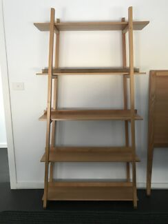 Timber Shelf And Matching Bed Head