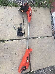 Cordless weed eater