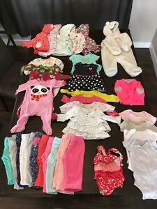 Huge Carters 6m Girls Lot (30+ items)