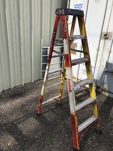 6' heavy duty step ladder