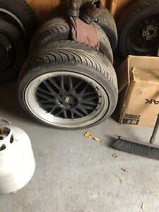 19inch bbs rims and with free tires