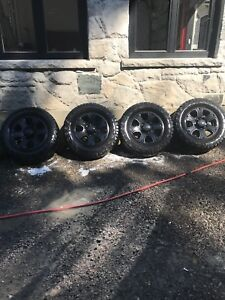 Ram 2500/3500 8lug wheels and tires for sale bf Goodrich