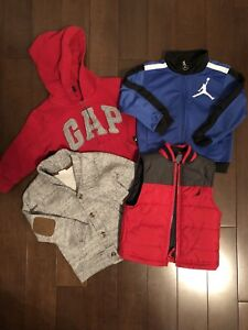Boys sweaters and vest 2T