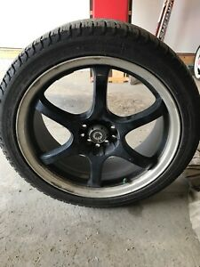 18 inch winter tires and rims with sensors