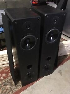 Profile acoustic speakers