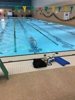 Private Swimming lessons teaching