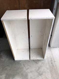 Melamine Shelves x 2