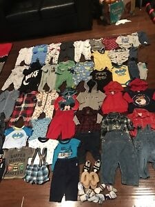 3 to 6 months baby boy Lot