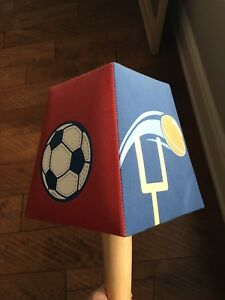 Kids Children sports Night Table or Desk Light