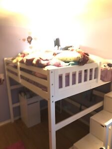 Loft beds with drawers